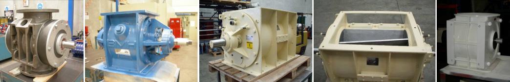 Overhaul Non Sanitary Rotary Valves / Feeders / Air Locks